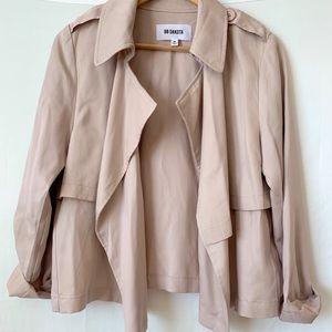 BB Dakota blush pink loose blazer